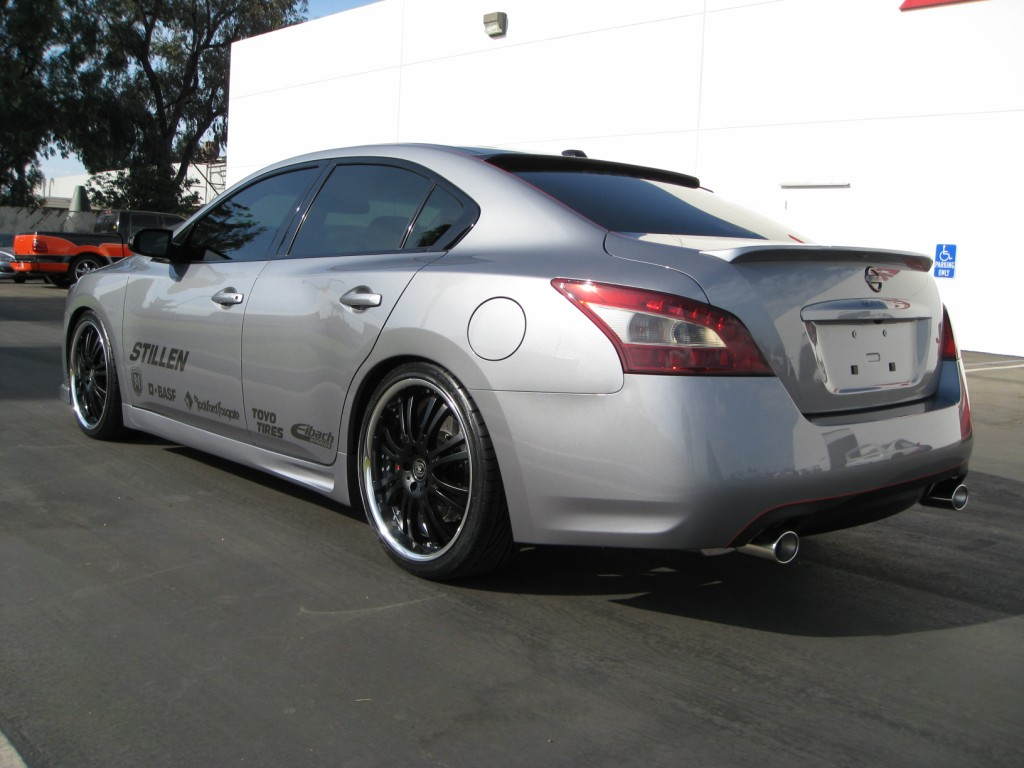 Stillen 2009 Nissan Maxima Sema Project Car Progress