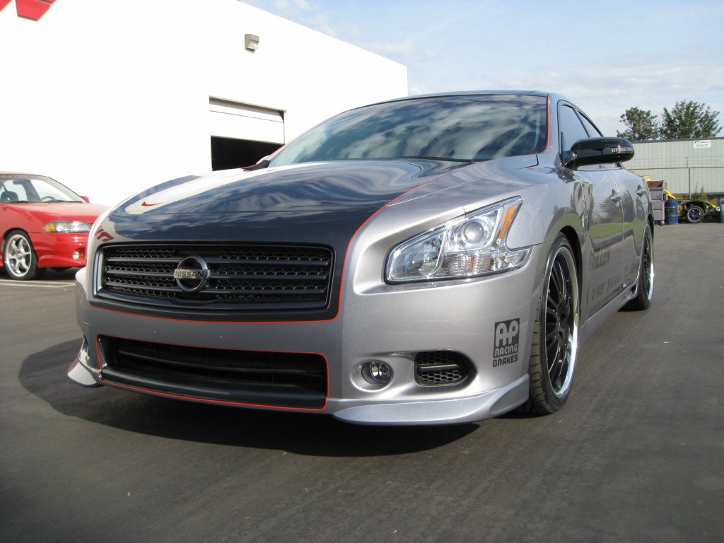 2009 Nissan Maxima SEMA Build – Part 1 2009 Nissan Maxima SEMA Build