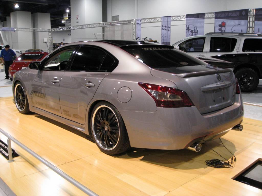 STILLEN 2009 Nissan Maxima at SEMA | STILLEN Garage