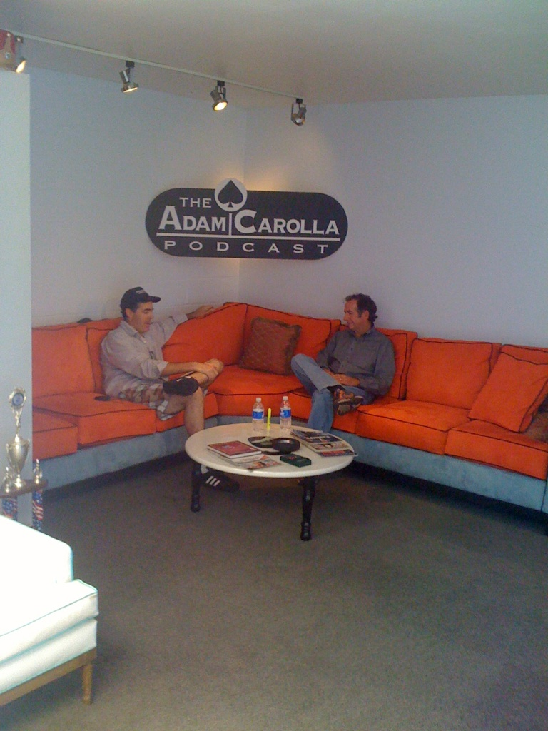 Steve Millen and Adam Carolla on Carcast STILLEN Edition