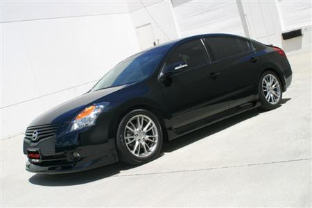 STILLEN Altima Sedan Lip Spoiler & Side Skirts