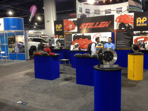 STILLEN / AP Racing Booth at SEMA 2013