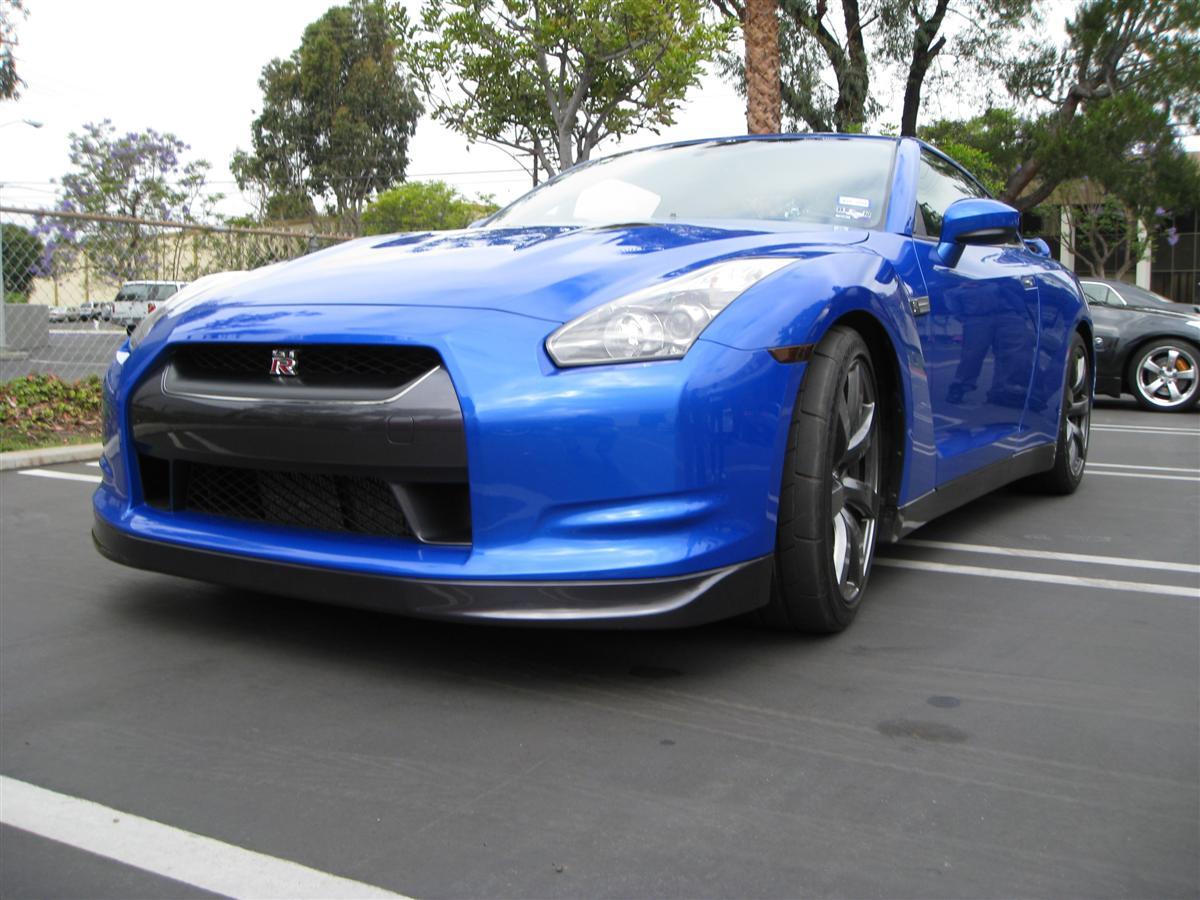Costa Mesa Nissan >> Blue Nissan R35 GT-R Visits STILLEN | STILLEN Garage