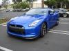 Blue Nissan GT-R at STILLEN