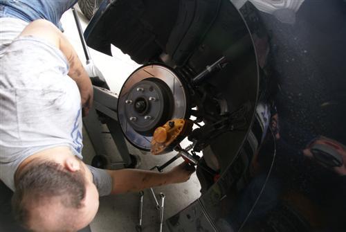 Installing the New STILLEN Suspension Parts