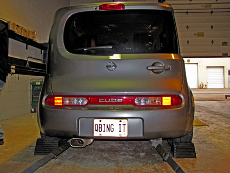 Nissan Cube with STILLEN Intake and Exhaust on Dyno