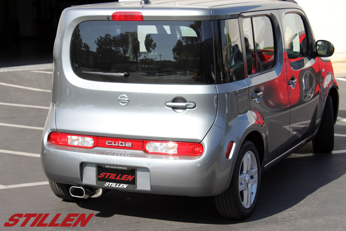 Nissan Cube Intake and Exhaust