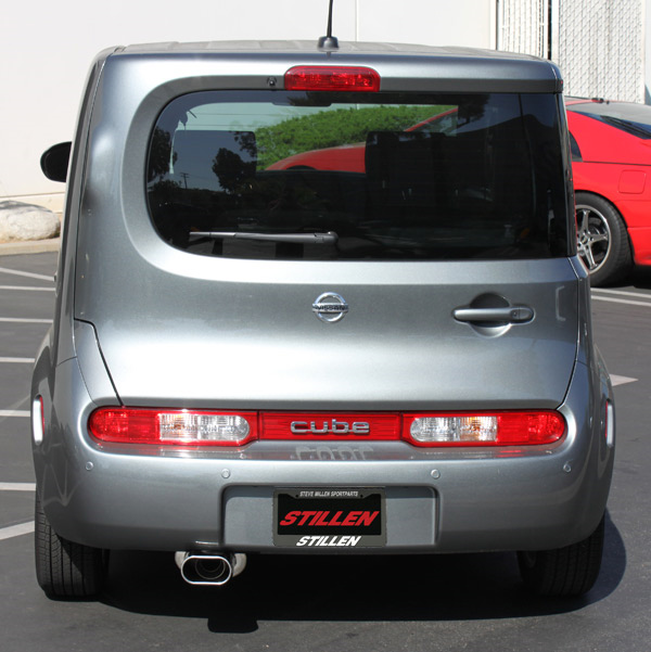Nissan Cube Intake And Exhaust System Released Stillen