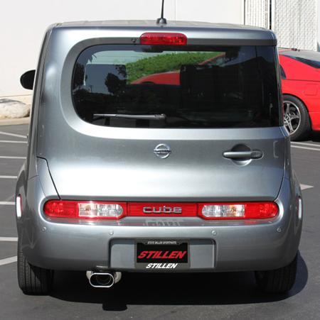 2009 2010 Nissan Cube Exhaust System STILLEN