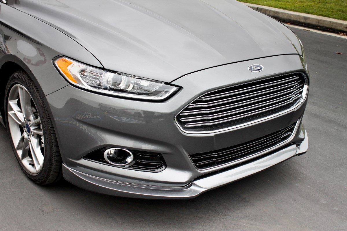 Stillen 2013 2014 Ford Fusion Front Lip Spoiler Amp Roof