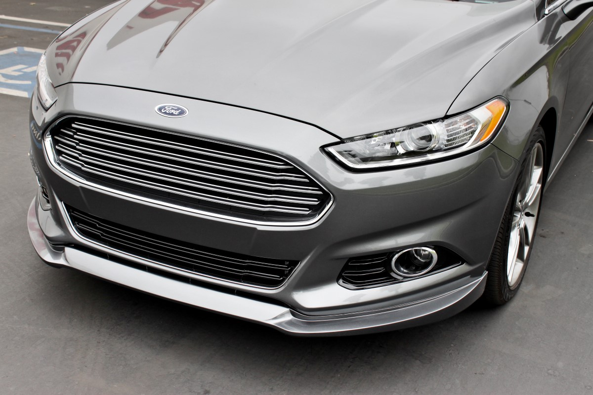Stillen 2013 2014 Ford Fusion Front Lip Spoiler Amp Roof