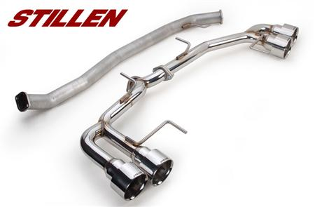 STILEN Nissan GT-R R35 304 Stainless Cat-Back Exhaust