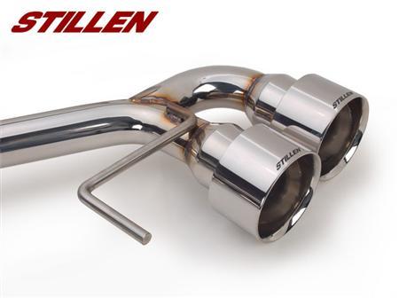 STILLEN Nissan GT-R R35 Cat-Back Tips Detail