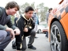 Students Inspecting the Wheels