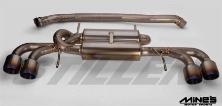 STILLEN Mine's GT-R R35 Silence VX Pro Titan II Exhaust System