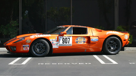 STILLEN Ford GT Prepped for Dunlop Targa Rally New Zealand