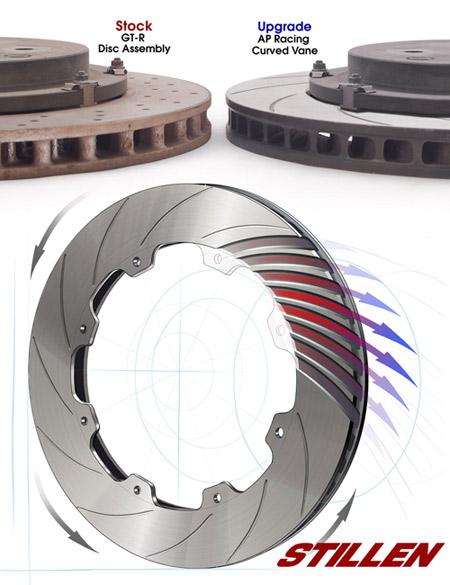 Nissan GT-R Brake Rotor Cutaway