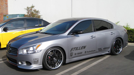 STILLEN 2009 Nissan Maxima SEMA Car Progress Final