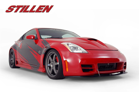 2004 Nissan 350Z 6MT. STILLEN built this 350Z as a showcase for all