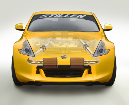 370Z with STILLEN Gen3 Ultra Long Intake