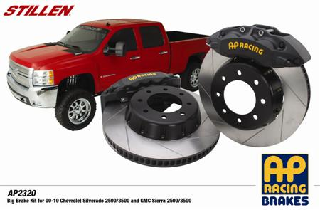 "Gmc Costa Mesa >> STILLEN Releases 16.1"" AP Racing Brake Kit for GM 2500/3500 Trucks | STILLEN Garage"