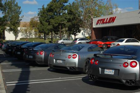 Customer GT-Rs at STILLEN's GT-R Day