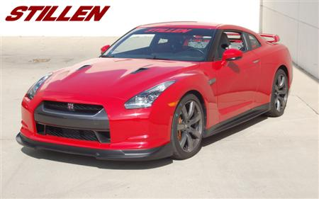 Nissan GT-R with R35 Body Components