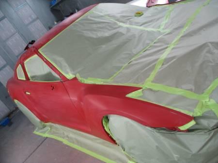 Stillen R35 Gt R In The Paint Booth Stillen Garage