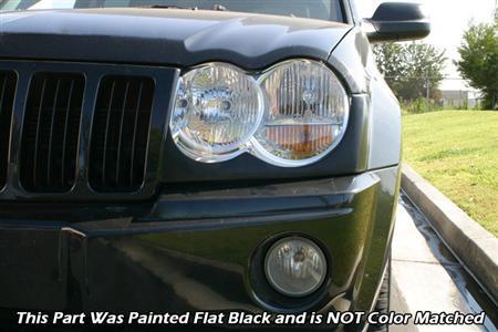 STILLEN Grand Cherokee Headlight Accents Installed