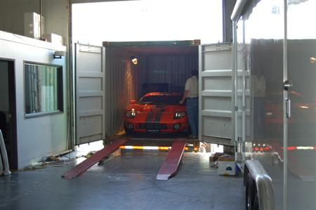 STILLEN Ford GT in Container