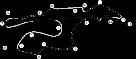 Infineon Raceway Course