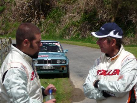 Steve Millen Kyle Millen Targa Rally