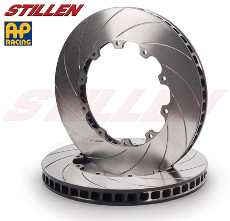 STILLEN AP Racing Nissan GT-R R35 Upgraded Curved Vane Brake Rotors