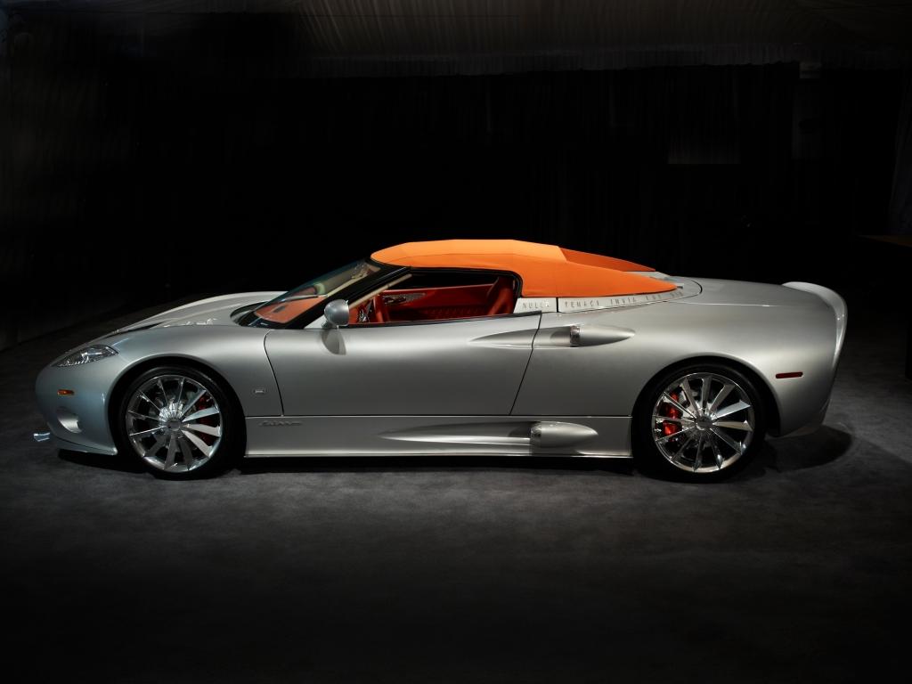 New Ap Racing Equipped Spyker C8 Aileron Spyder Debuts