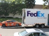 Loading STILLEN GT-R on FedEx Truck