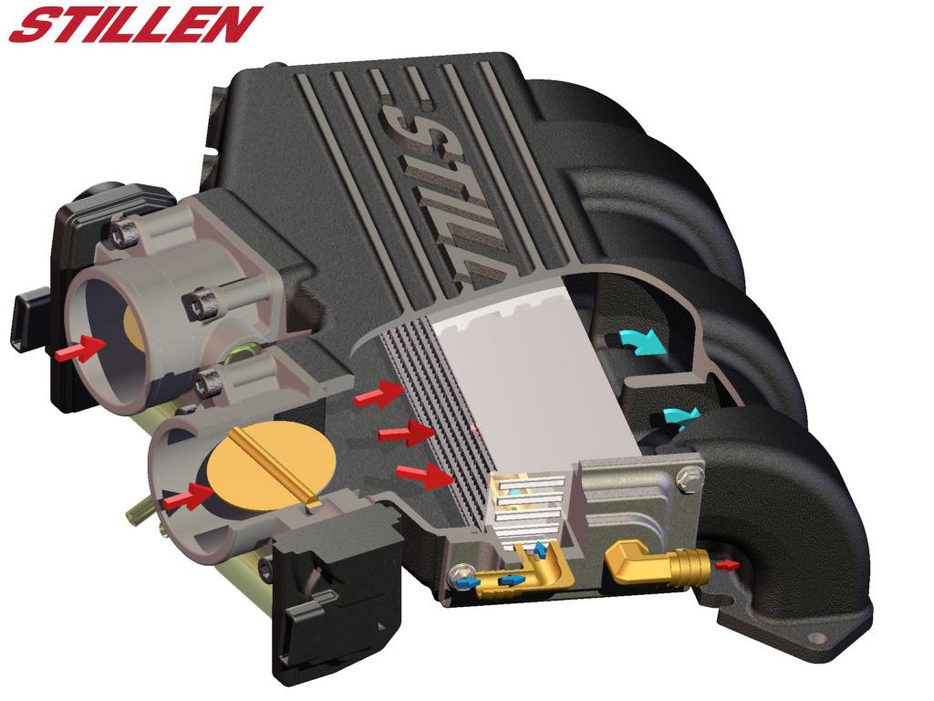 370z G37 Supercharger System Progress Intake Manifold