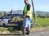 Accident at the Targa Rally New Zealand