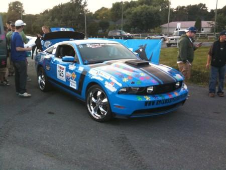 Targa Newfoundland 2009 Mustang