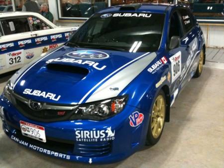 Targa Newfoundland 2009 Subaru WRX STi