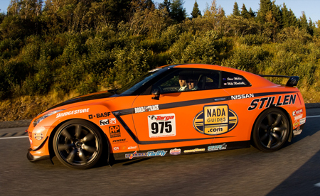 STILLEN GT-R Steve Millen and Mike Monticello mean business at the 2009 Targa Newfoundland Rally courtesy of Warwick Patterson / Formulaphoto.com