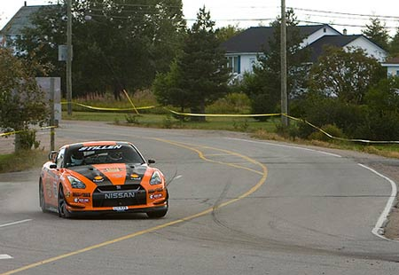STILLEN GT-R at the 2009 Targa Newfoundland Rally courtesy of Marc Urbano / Road & Track