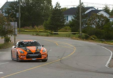 STILLEN GT-R at the 2009 Targa Newfoundland Rally courtesy of Marc Urbano / Road & Track