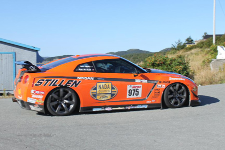 STILLEN GT-R during Racing Day 4 at the 2009 Targa Newfoundland Rally