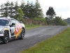 Tony Quinn Driving a R35 GT-R at the Targa Rally New Zealand