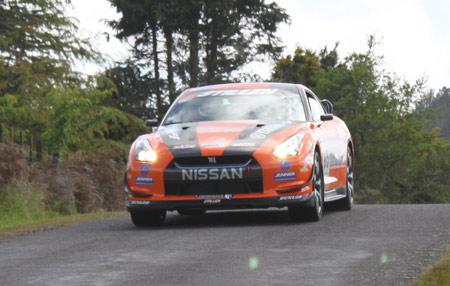 Steve Millen STILLEN R35 GT-R Targa New Zealand Day 3