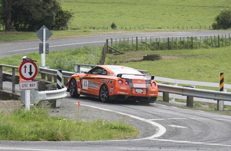 Steve Millen STILLEN R35 GT-R Targa NZ 2010 Day 5
