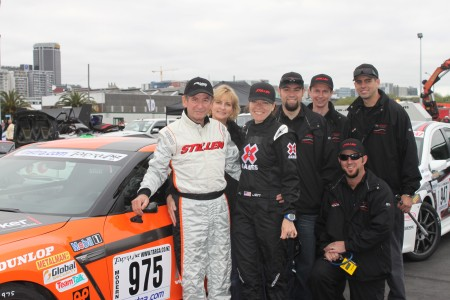 Team STILLEN Targa Rally Group Photo Including Steve Millen, Jodi Millen, Jen Horsey, Kyle Millen, Conrad Healy, Joe Nagy, and Mark Ungles