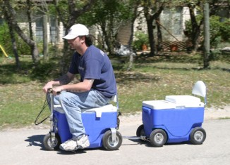 Motorized Cooler