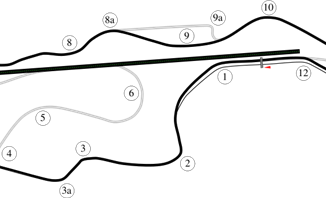 Infineon Road Course in Sonoma, California