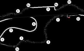 Infineon Road Course in Sonoma, California